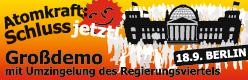 Atomkraft: Schluss jetzt!